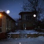 Snowflakes & Flash at Villa Nistru
