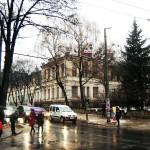 Pushkin x Cogalniceanu Intersection in Kishinev.