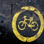 Bicycle Path Sign.