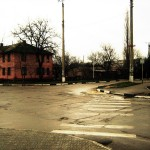 An Intersection in Dubossary, PMR.