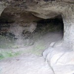 Old Orhei: In the Cliff.